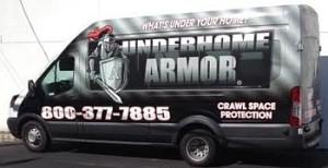underhome armor truck